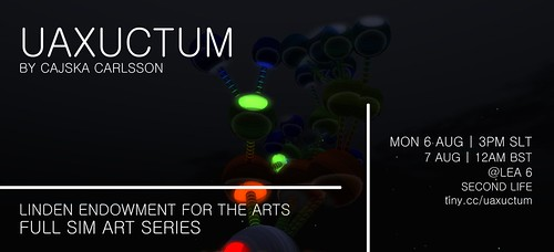 Uaxuctum web flyer by Hot Hail