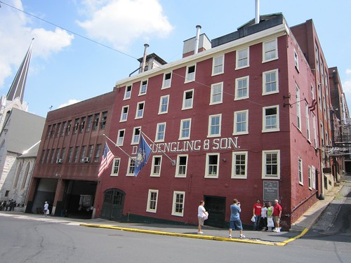 Yuengling Brewery Exterior