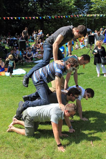 Picknick in het park impressie leven in leuven - Gezellig synoniem ...