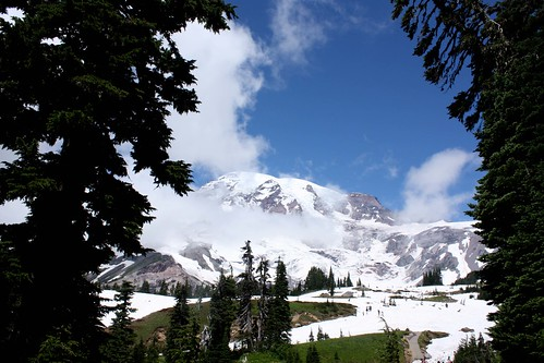 Mt Rainier Intern Trip