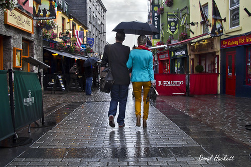 On the street....A Stroll in the rain...