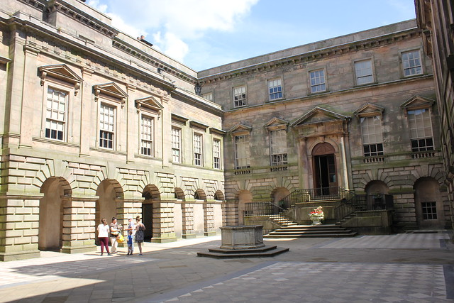 Courtyard Lyme hall