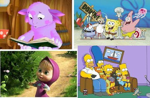 Популярные мультфильмы