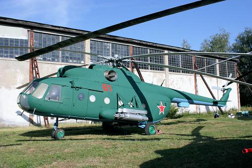 Mil Mi-8 61 red