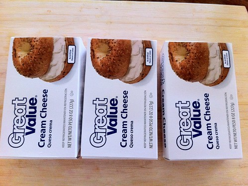3 Packs of Cream Cheese