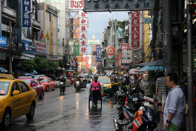 Street Food in Yaowarat Chinatown, Bangkok, Thailand