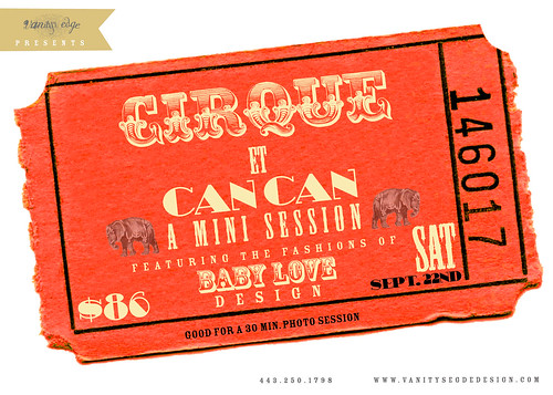 cirque et cancan: The fall mini special