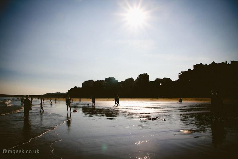 Tenby Part 3 - Exploring the Beach