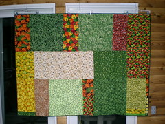 back of Tove's fruit quilt