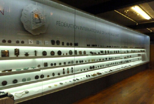 FIDEM 2012 Hunterian medal exhibit