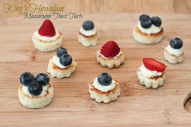 King's Hawaiian Mascarpone Toast Tarts