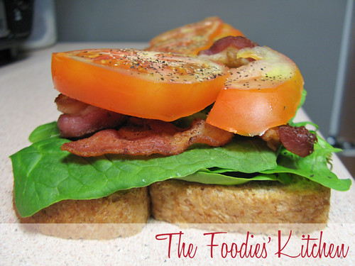 BLT with Fried Egg
