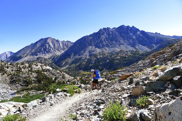 Heading Down to Rae Lakes Basin
