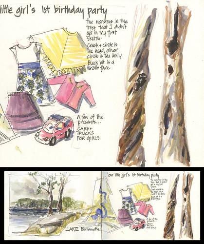 121103 New sketchbook spread 2 detail