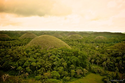 voyage photography photo philippines vert bohol sein vue chocolat colline panoramique sépia geologie coquillage corail makipix