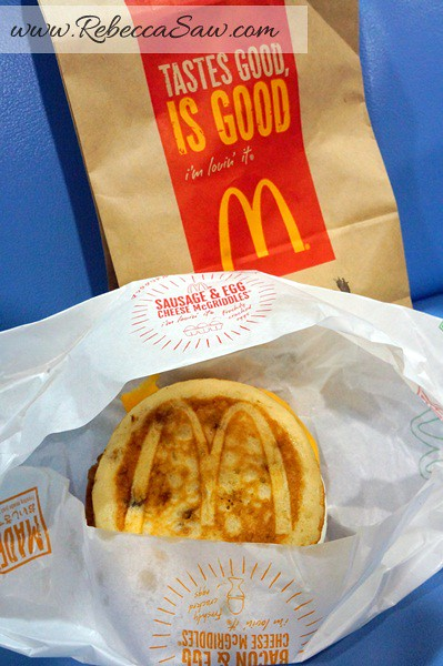 Mcdonalds Japan - sausage and egg cheese mcgriddles-003