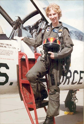 Mary Laub's graduation, Williams Air Force Base, January 1984. Photo courtesy of US Army Corps of Engineers.