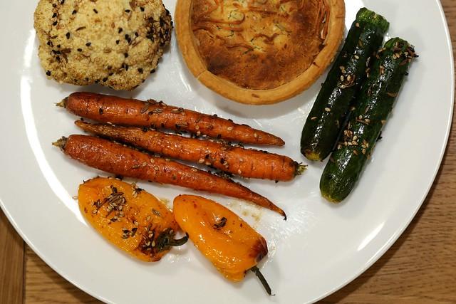 Seed-Encrusted Roasted Vegetables