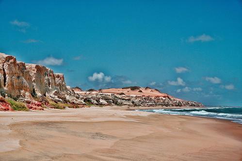 ocean cliff beach branco lens sand shore kit morro falésia littoral arimm