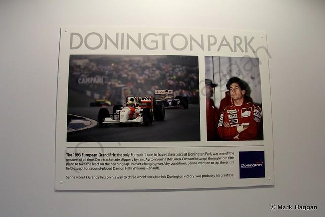 Ayrton Senna at Donington Park
