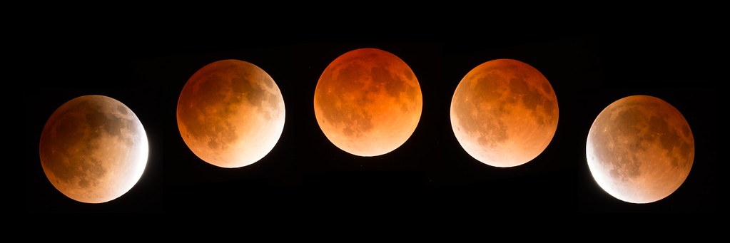 April 14 Lunar Eclipse Bright Composite