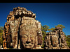 The Many Faces of Bayon Temple, Angkor Thom, Angkor Wat Temple Complex, Cambodia by Sam Antonio Photography