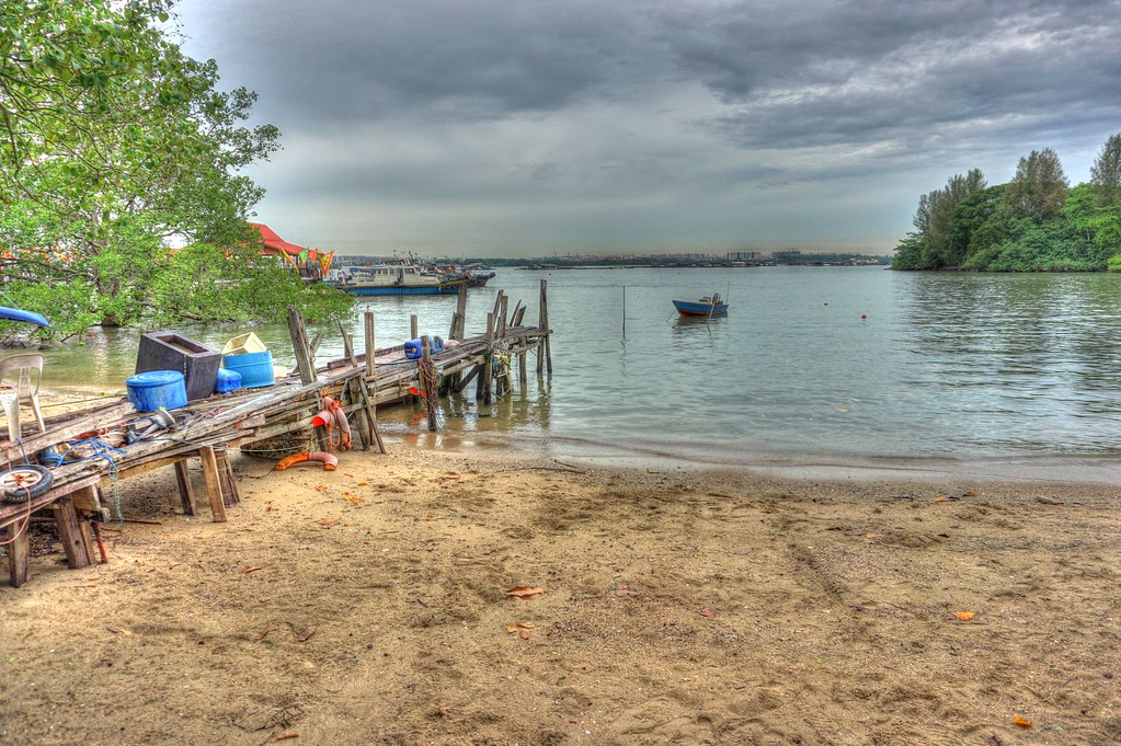 Things to do in Singapore - Boats at Pulau Ubin