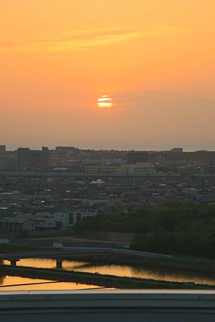 新潟 夕日