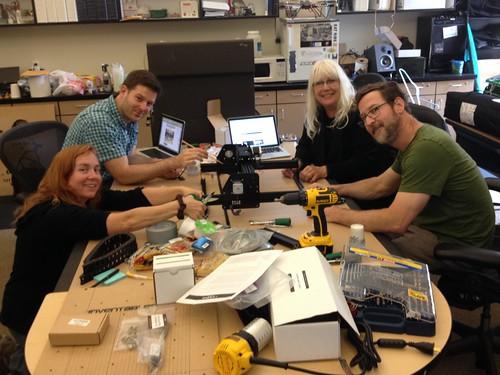 X-Carve Build Day - Chopsticks and Scissors