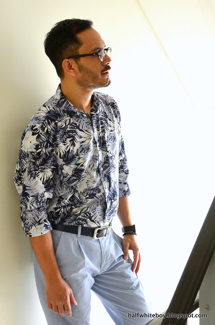 halfwhiteboy blue summer outfit 05