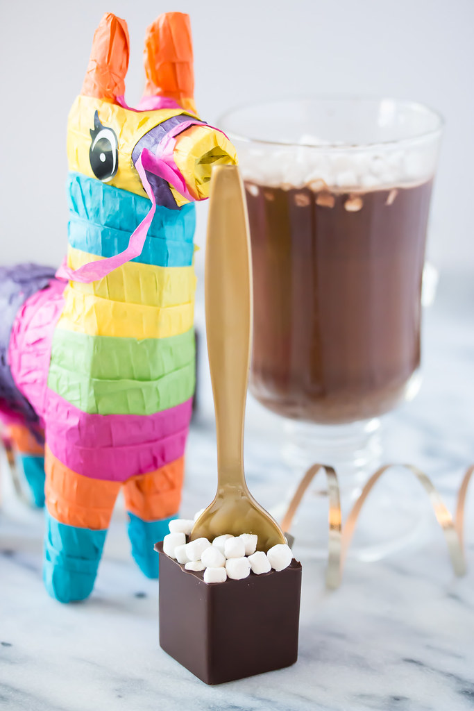 Fun Cinco de Mayo DIY Gifts - Mexican Hot Cocoa Sticks