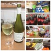 #shopping delivery from #woolies has arrived. Glass of #chardonnay while putting it away.