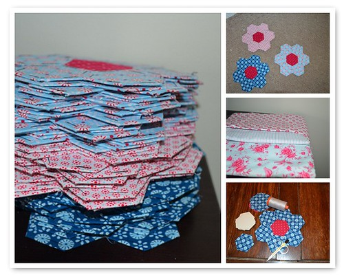 Hexagon Hand Piecing