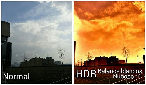El uso de HDR y Balance de Blancos Nublado 4