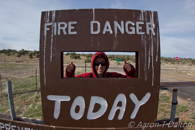 Fire Danger Today is Thiiiiiiis Much