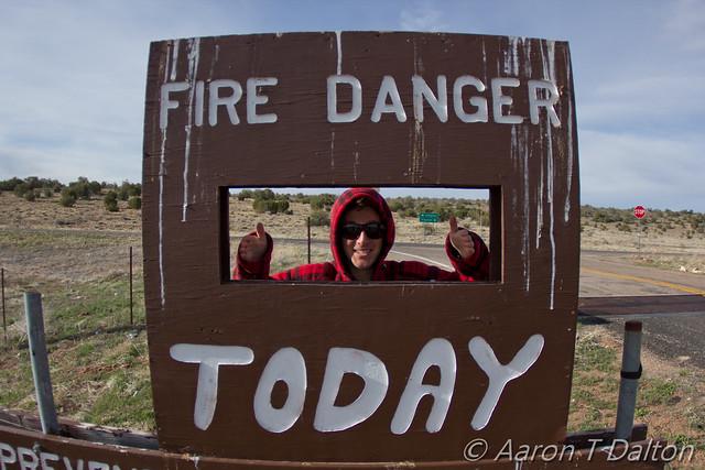 Fire Danger Today is Thiiiiiiis Much