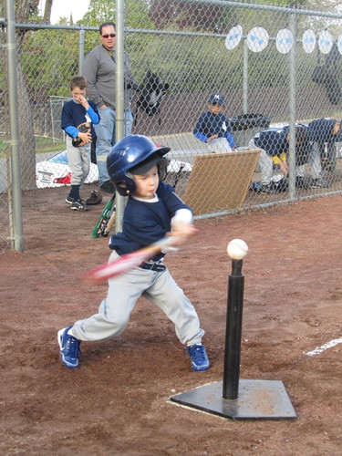 First T Ball game