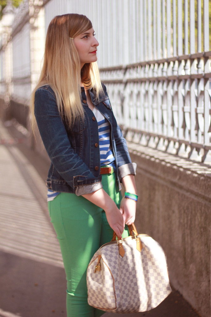 J ai mis mon pantalon veeeert ! - Zoé Bassetto - blog mode - beauté ... 316b1a187d75