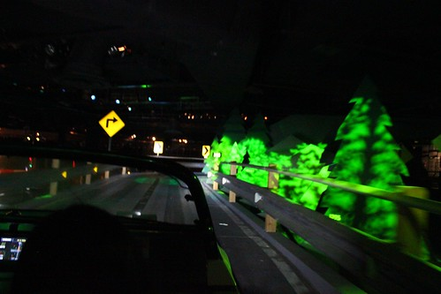 Hairpin turns - Test Track at Epcot