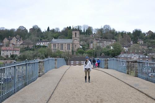 On Telford's Iron Bridge