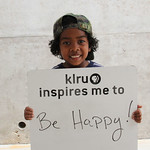 KLRU inspires me to ... be happy!