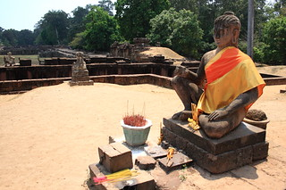 Angkor Thom Leper King Terrace