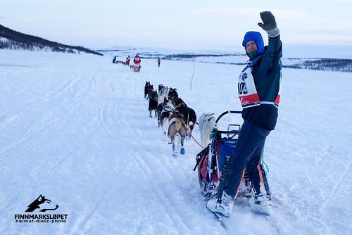 Finnmarkslopet 2012: Bernd Helmich