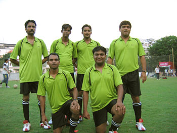 (L to R Standing) Saha, Clifford, Satyajit & Jiten (L to R Sitting) Sushanto & Myself