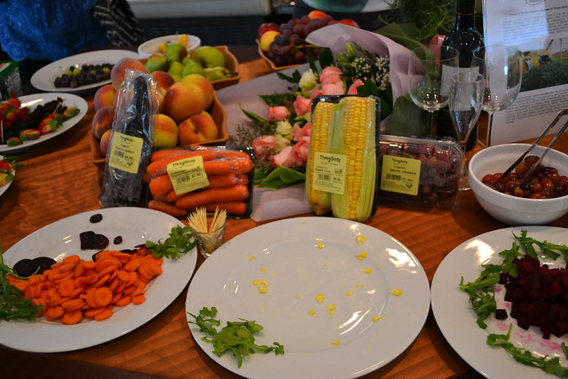 Assorted Fruits and Vegetables, Three-Sixty Marketplace at Savour 2012
