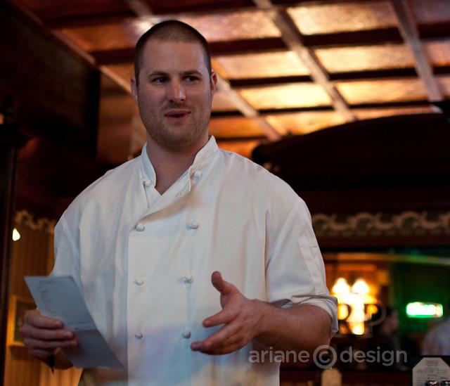 Doolin's chef Nick Gonzalez