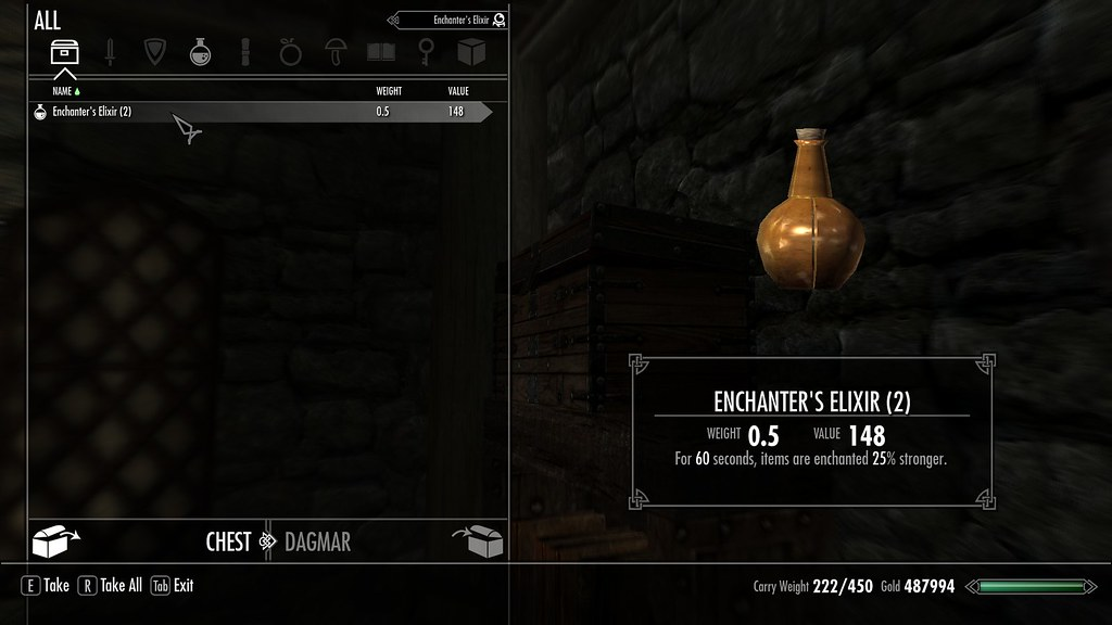 Highest smithing and enchanting potions