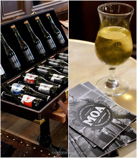 Moa Beer Tasting - Beer case