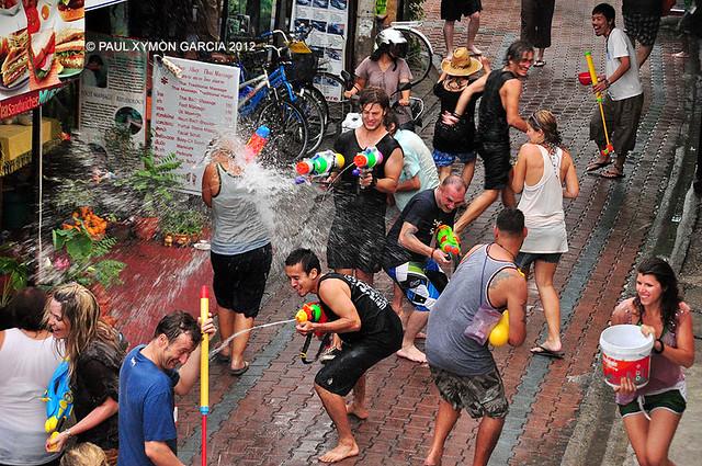 Songkran 2012 in Chiang Mai, Thailand