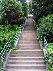 Uphill staircase, morning constitutional around Noe Valley, San Francisco, CA, USA.jpg